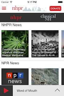 NHPR Radio- screenshot thumbnail
