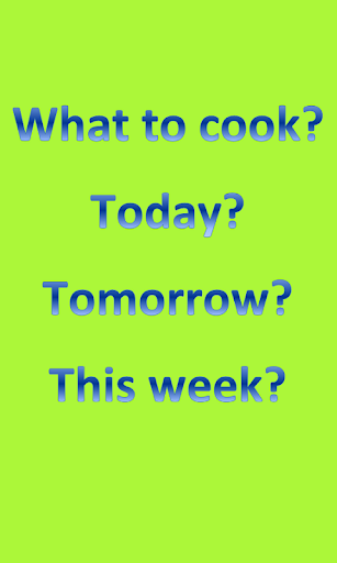 What to Cook?|玩生活App免費|玩APPs