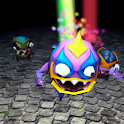 Halloween Monsters Live Wall icon