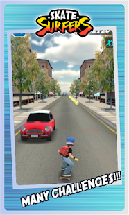 Skate Surfers Free- screenshot thumbnail