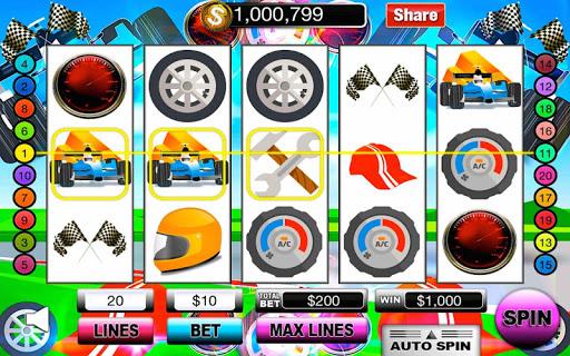 Racing Speed Slot Machine FREE