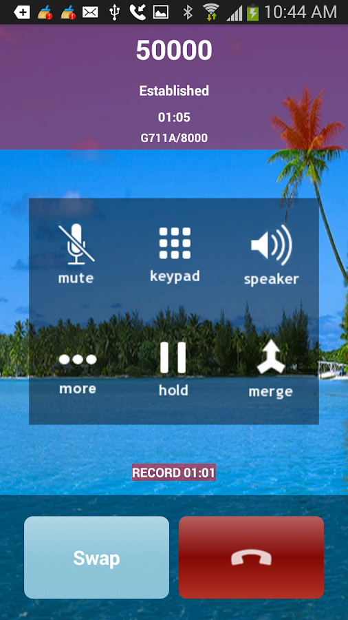 SessionTalk VoIP SIP Softphone- screenshot