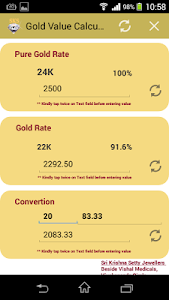 Gold Value Calculator screenshot 4