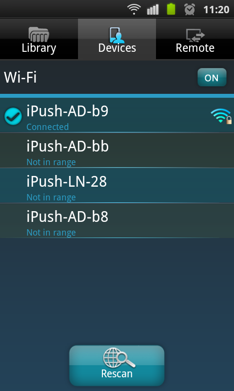 ipush - screenshot