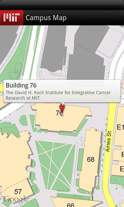 MIT Mobile- screenshot