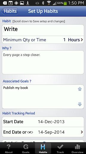 玩生產應用App The Habit Factor® Goals,Habits免費 APP試玩