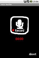 Screenshot of Voice Notifier