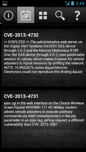 Hacking Report CVE
