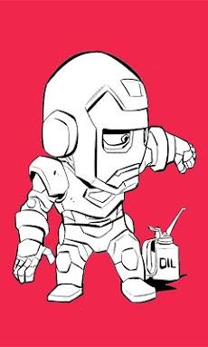 Paint Iron Man HDのおすすめ画像5