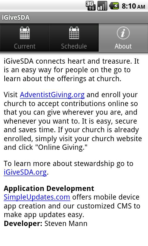 iGiveSDA - screenshot