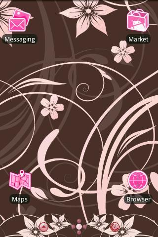 Cherry Blooms Theme - screenshot