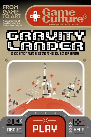 Gravity Lander- screenshot