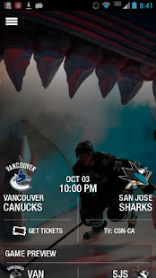 San Jose Sharks Official App - screenshot thumbnail