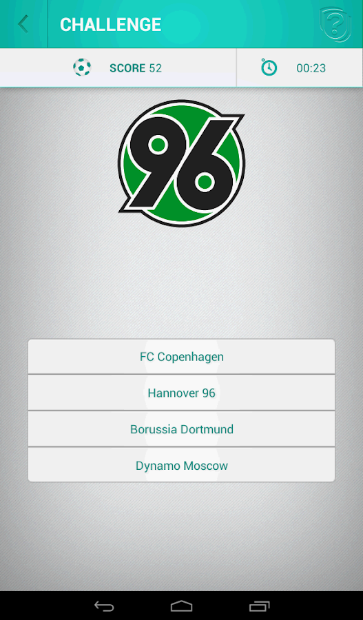 Football Logo Quiz- screenshot