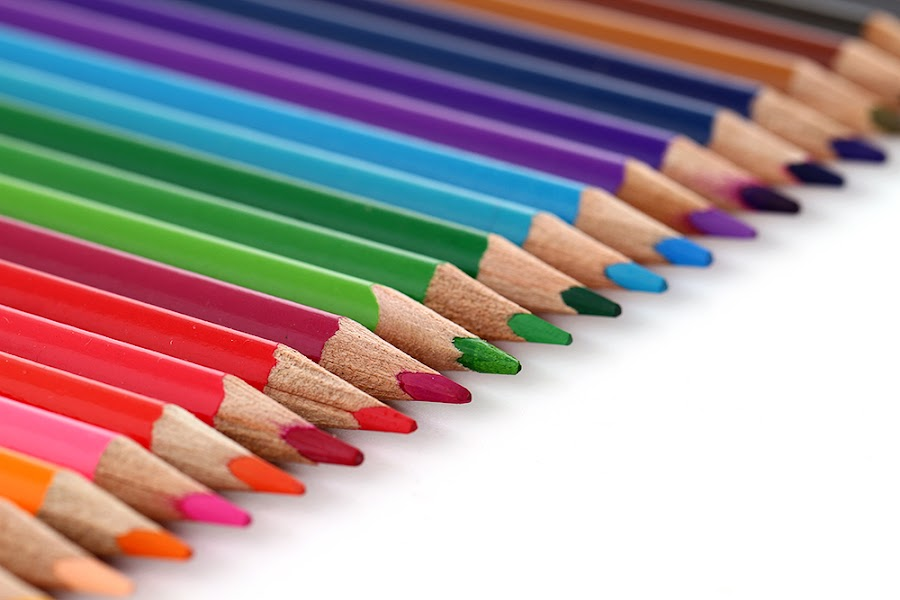 Perfection by Ramakant Sharda - Artistic Objects Still Life ( macro, micro, colors, object, crayons, pencils, , colorful, mood factory, vibrant, happiness, January, moods, emotions, inspiration )