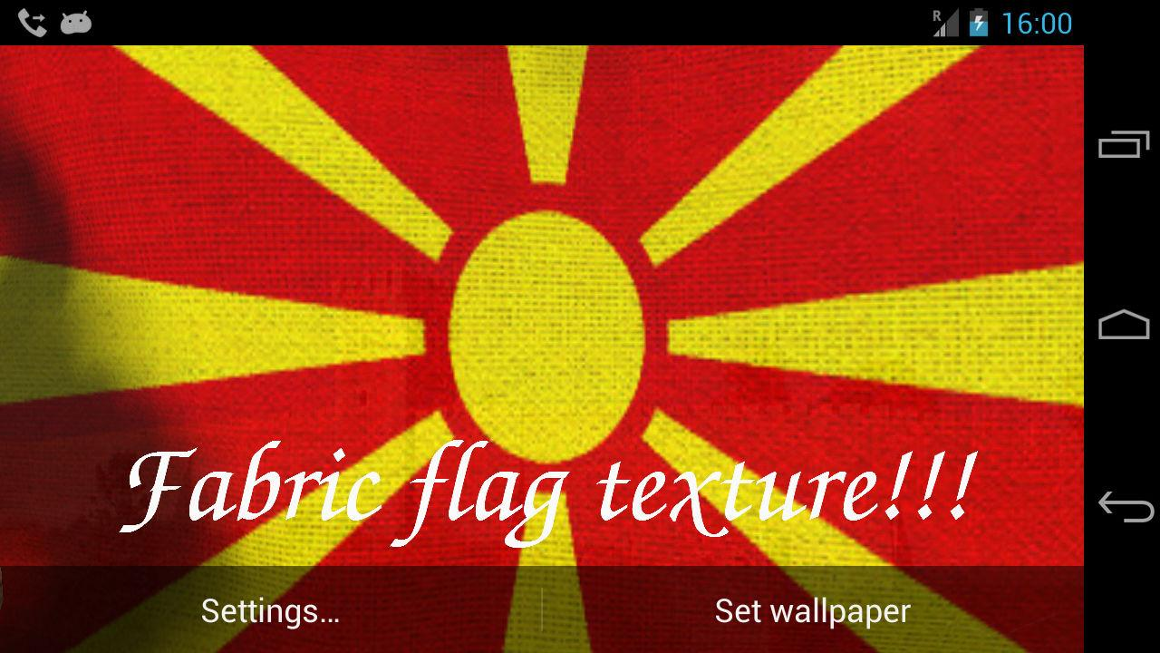3D Macedonia Flag LWP  Android Apps on Google Play