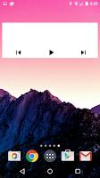 Screenshot of Jack's Music Widget