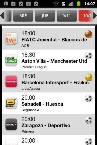 TVdeportes La Liga Champions