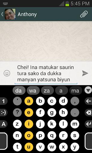 Hausa Dictionary for Dextr