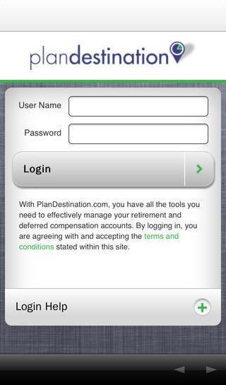 PlanDestination.com- screenshot