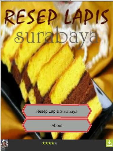 Resep Lapis Surabaya