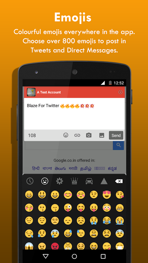 Blaze for Twitter- screenshot