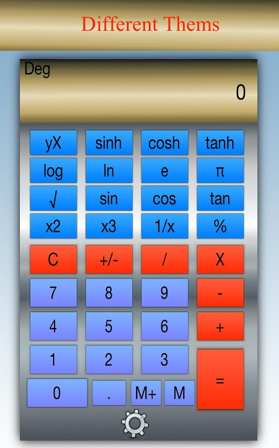 Calculator Pro HD - screenshot