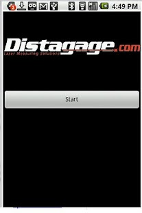 Distagage Disto App - screenshot thumbnail