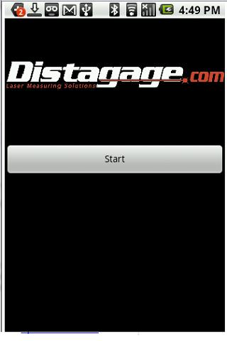 Distagage Disto App - screenshot