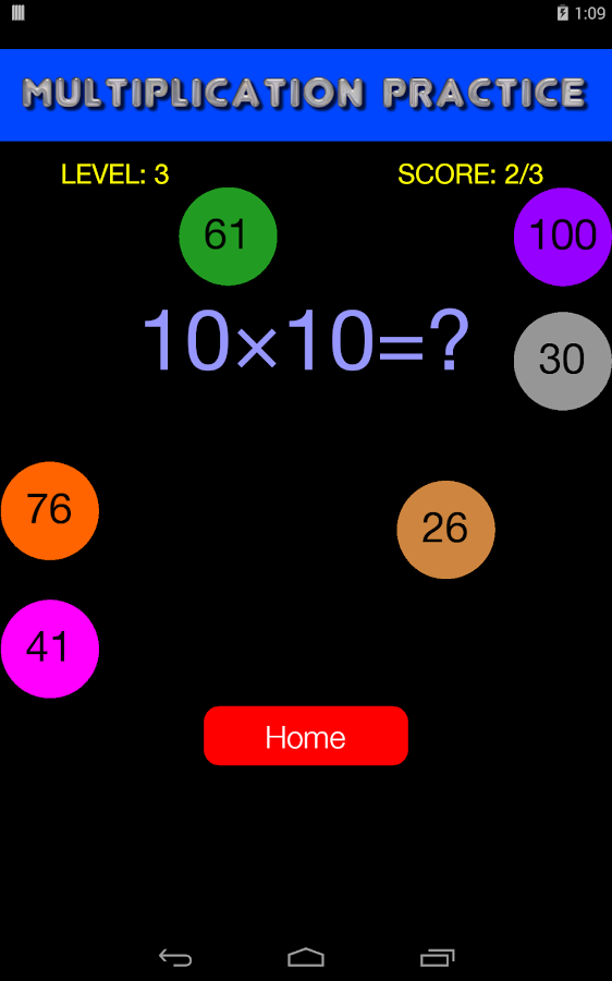 Math Quiz Game - Kids Practice- screenshot