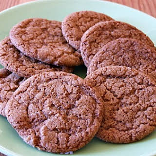 Chewy Molasses- Spice Cookies.