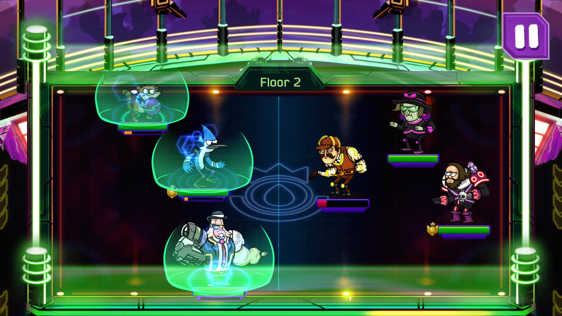 Grudgeball - Regular Show screenshot #11
