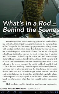 Bass Angler Magazine- screenshot thumbnail