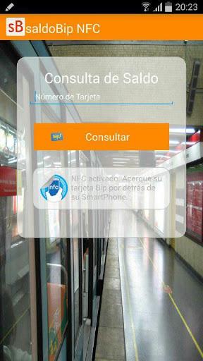 saldoBip NFC