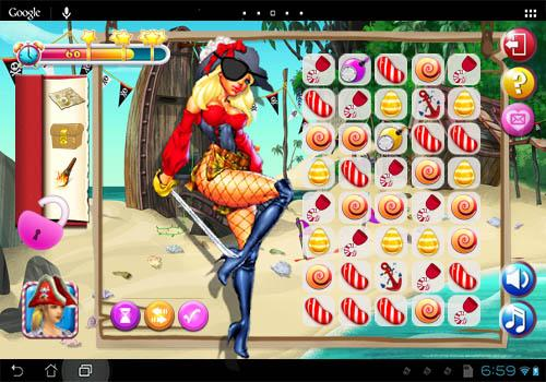 Candy Pirate Blitz Blast