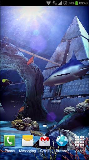 Живые обои Atlantis 3D Pro Live Wallpaper для планшетов на Android