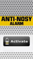Screenshot of Anti-Nosy Alarm