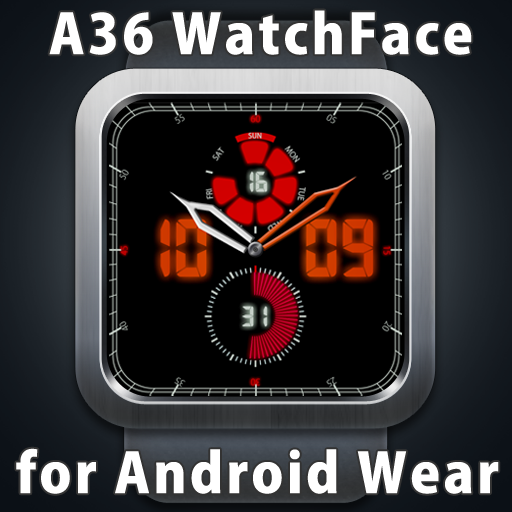 A36 WatchFace for Android Wear 工具 App LOGO-APP試玩
