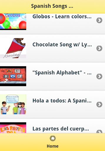 Spanish Kids Songs