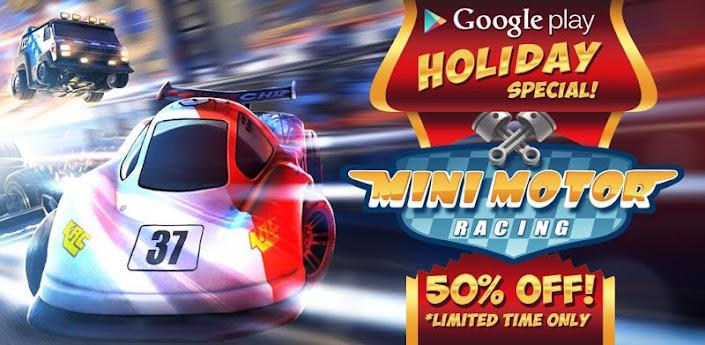 Скачать Mini Motor Racing - гонки на игрушечных машинках