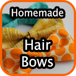 Homemade Hair Bows