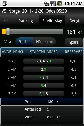 Travstat Android - screenshot