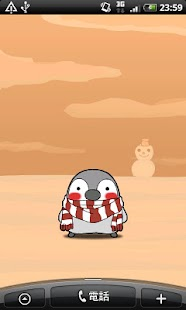 Pesoguin LWP WINTER Full Ver. - screenshot thumbnail
