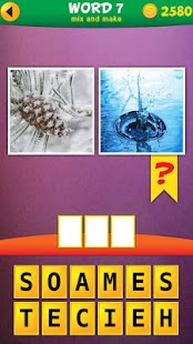 2 Pics 1 Word: Mix Pics Puzzle- screenshot thumbnail