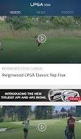 Screenshot of LPGA Now