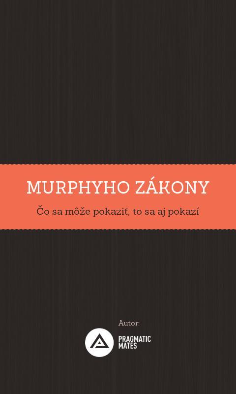 Murphyho zákony- screenshot