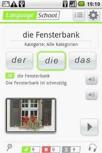 Entrenador de Alemán: miniatura de captura de pantalla