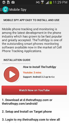 Mobile Spy - SMS Whatsapp Call