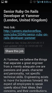 Stack Careers - screenshot thumbnail