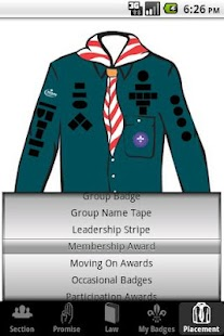 My Badges - UK Scout Programme - screenshot thumbnail